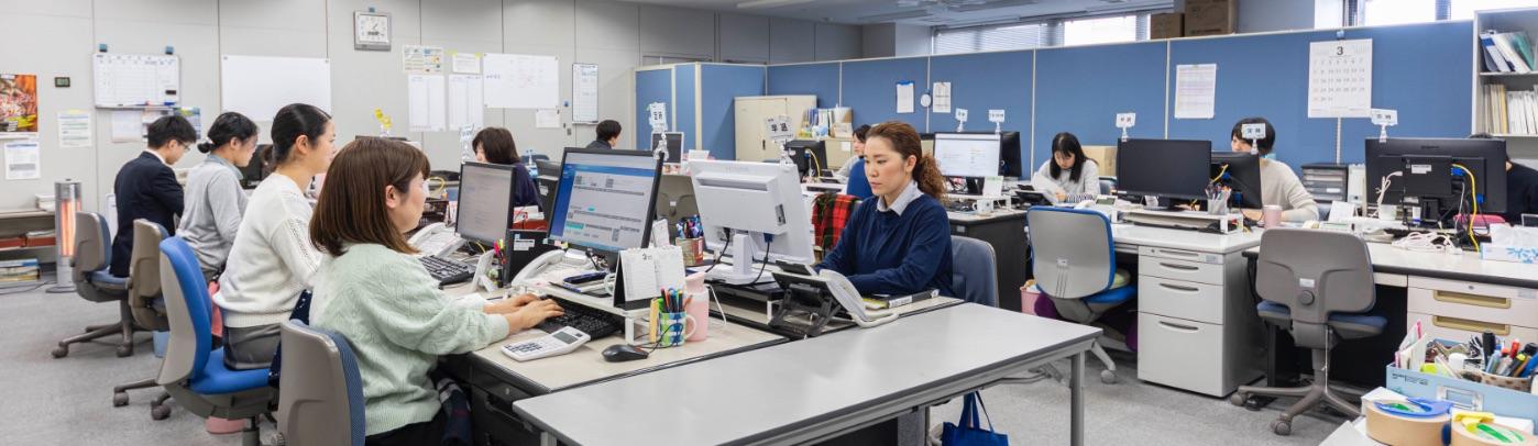 給与社保事業部のオフィス